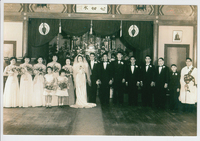 Wedding Portrait of Susy and Leo T. Kikuchi