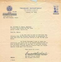 Filipino Association Sixth War Loan Drive