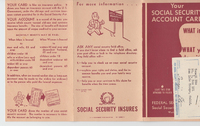 Tameji Eto's Social Security Card