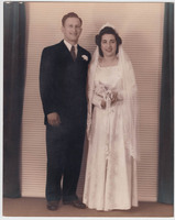 Wedding Photo of Arlene Villa and William Zanchuck